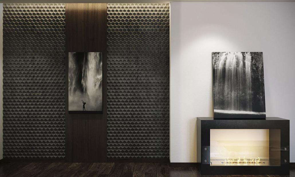 Стиль черной мебели