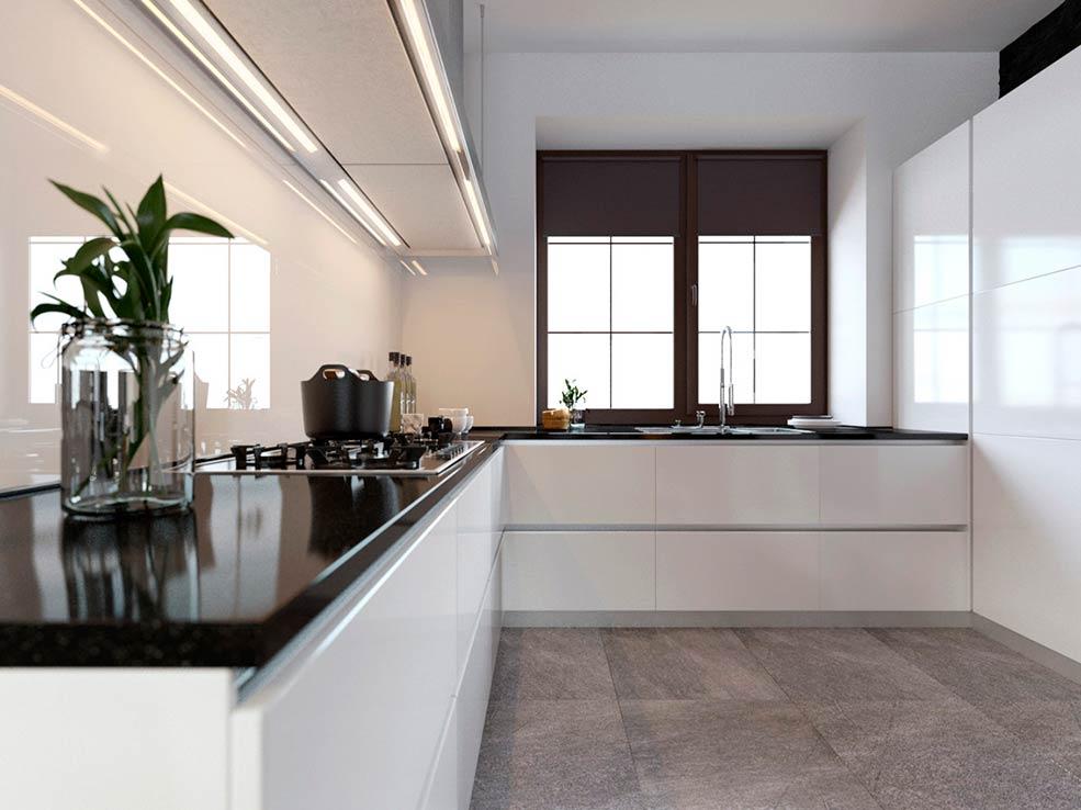 белая-кухня-угловая-минимализм
