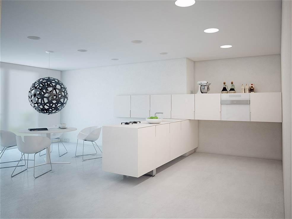 кухня-минимализм-в-белых-тонах