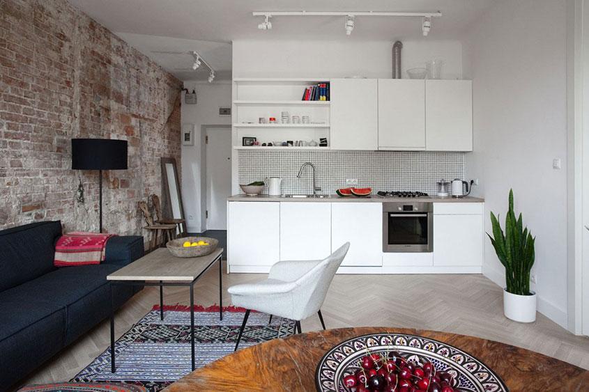 кухня-студия-зонирование-стен