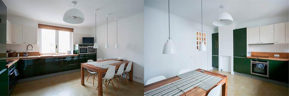 Потолок-на-кухне-в-стиле-минимализм