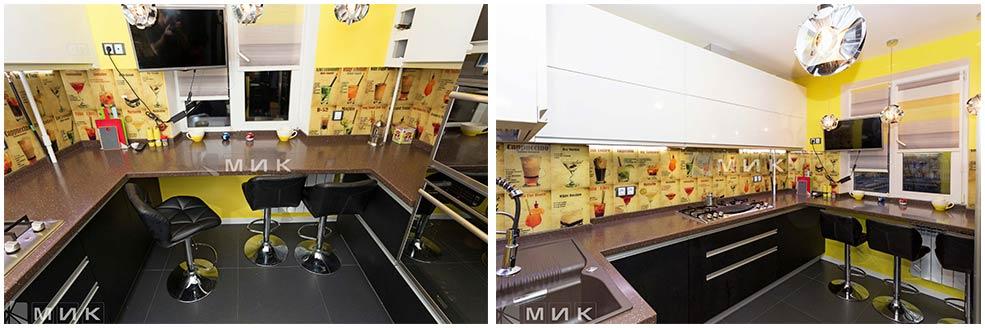 бело-коричневая-кухня-9-кв-м