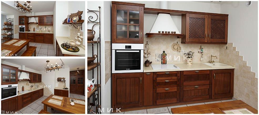 коричневая-кухня-в-английском-стиле