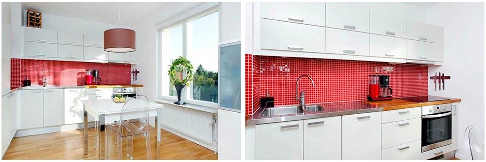 красный-фартук-на-белой-кухне