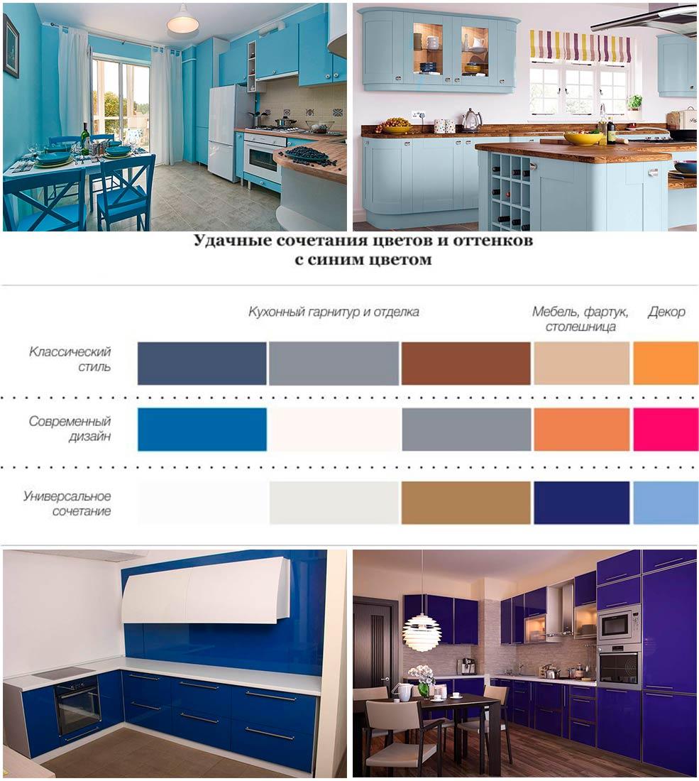 кухни-синего-цвета-фото