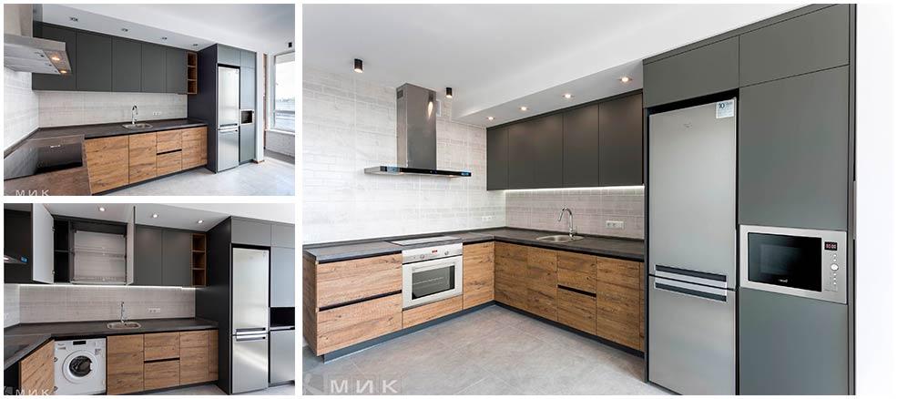 кухня-в-серых-тонах-минимализм