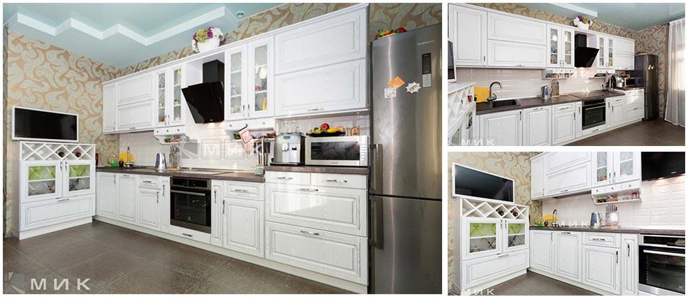 кухонный-гарнитур-классика-белый