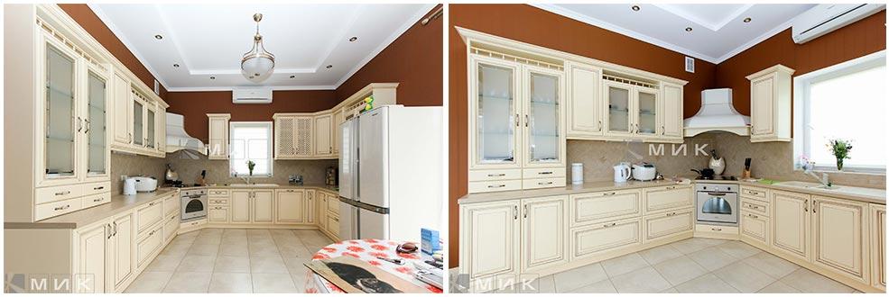 п-образная-кухня-классика-фото