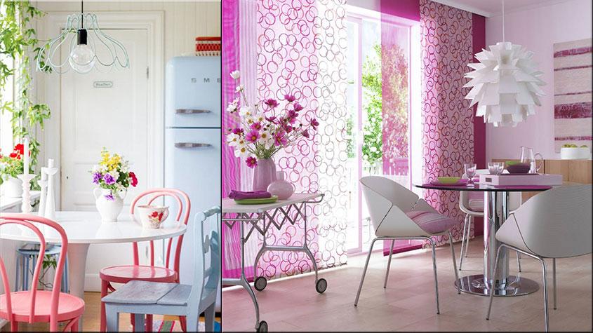 розовые-стулья