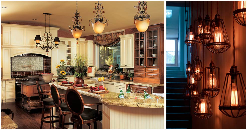 светильники-на-кухне-в-английском-стиле
